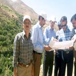 بازدید مدیرکل راه و شهرسازی کردستان از پروژههای راه روستایی شهرستان سنندج