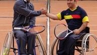 برگزاری مسابقات تنیس با ویلچر قهرمانى کشور در مجموعه ورزشی راهآهن