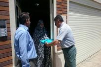 هدیه قرآن عمران اریکه به همسایگان محدوده ساخت متری خط 6