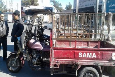 سهمیهبندی بنزین و بلاتکلیفی موتورسیکلتهای سهچرخ