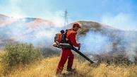 اقدامات برای مهار آتشسوزی مراتع جاده قم- اراک در حال پیگیری است