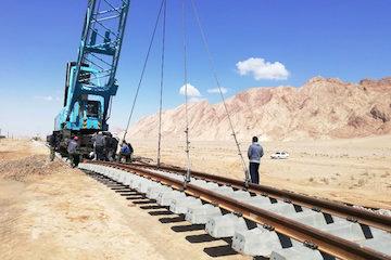 پیشرفت ۳۴ درصدی پروژه راه آهن خرم آباد – دورود