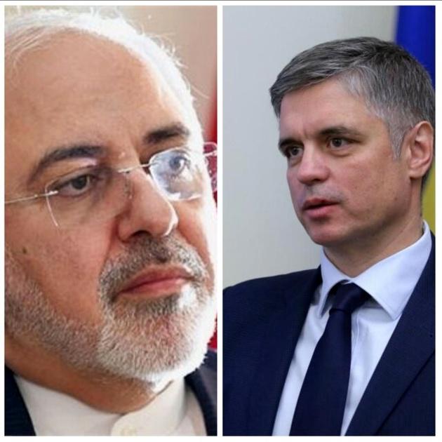 گفتوگوی تلفنی وزیران خارجه ایران و اوکراین در پی سقوط هواپیما