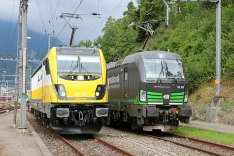 Siemens to deliver eight Vectron multisystem locomotives for Lokomotion