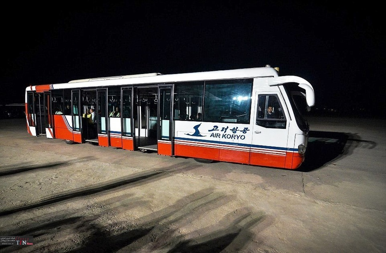 اتوبوس به رنگ پرچم