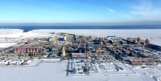 Third LNG train from Yamal LNG launched one year earlier