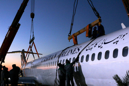عملیات جابهجایی هواپیمای سانحهدیده ماهشهر