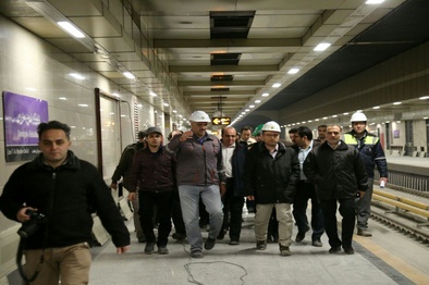 10 پلهبرقی در ایستگاه متروی تربیت مدرس فعال است
