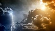 رگبار، رعدوبرق و وزش بادهای شدید در برخی نقاط کشور