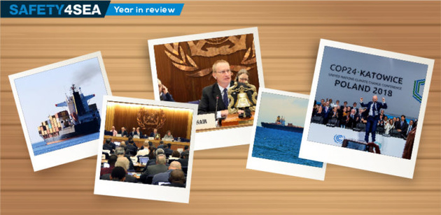 A year in pictures: Shipping industry's highlights in 2018