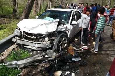 تصادف زنجیرهای در آزادراه زنجان-قزوین ۸ کشته و مصدوم برجای گذاشت