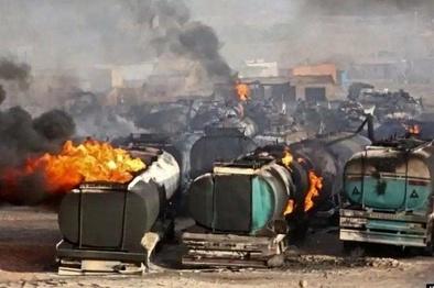 توقف ۲۰۰۰ کامیون پشت پایانه مرزی دوغارون در ایران