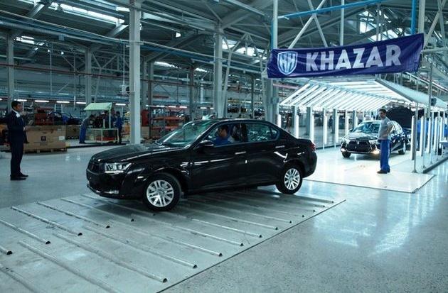 تحویل اولین خودروهای دنا مونتاژ آذربایجان به مشتریان