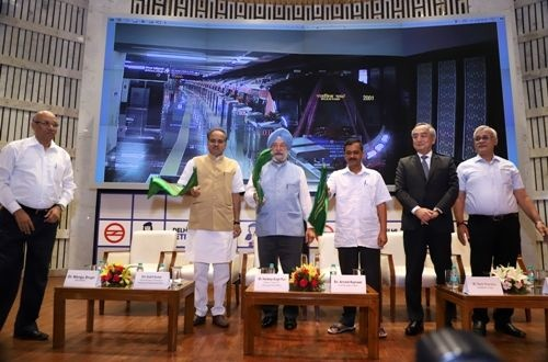 Delhi opens metro Pink Line extension