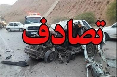 سوانح رانندگی در همدان سه کشته برجا گذاشت