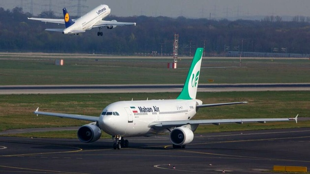 دادگاه آلمانی اعتراض «ماهان» به لغو مجوز پرواز را رد کرد