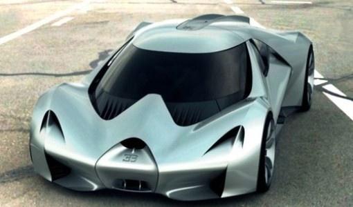 Bugatti EB. LA In The Jean Bugatti Prospective Style