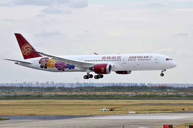 Juneyao plans international boost with 787s
