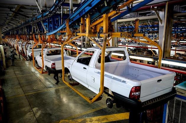 رشد 15.4 درصدی تولید خودرو