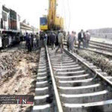 واژگونی قطار در ایستگاه بکران شاهرود