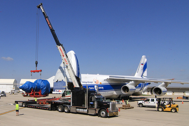 World's largest jet engine hitches a lift home to Ohio