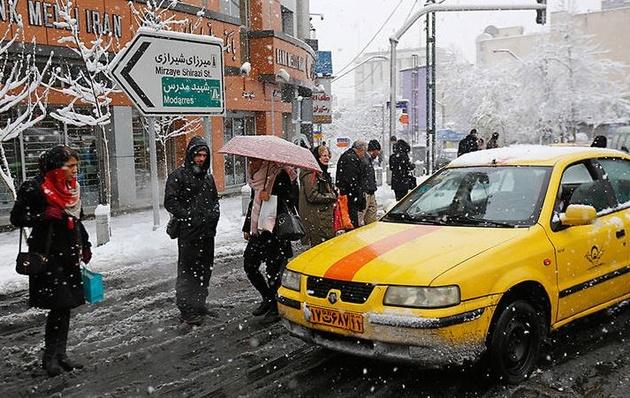 تمهیدات شهرداری تهران در زمان بارش و برف
