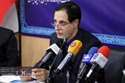 مراسم آیین رونمایی از شش پروژه صنعت هوانوردی شرکت فرودگاهها و ناوبری هوایی ایران