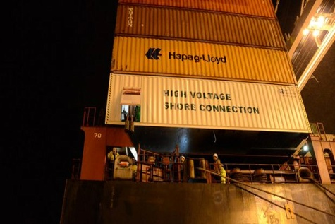 Port of Oakland pushes more ships to shore power