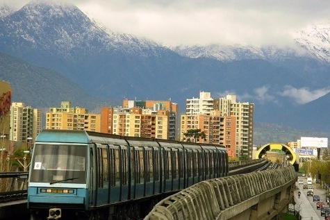 Santiago Metro to Run on solar energy