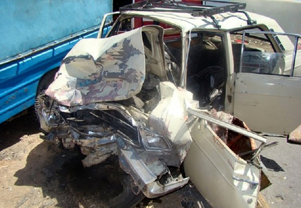 5 کشته و مصدوم در تصادف جاده مریوان - سروآباد