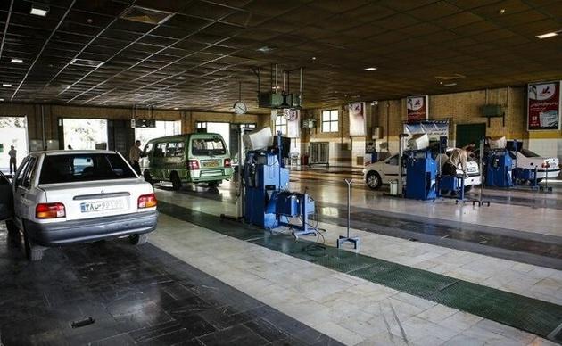 فعالیت دو مرکز معاینه فنی تهران در تعطیلات جاری