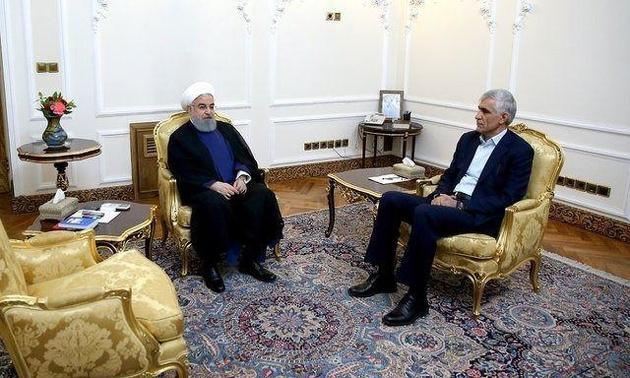 در دیدار روحانی و شهردار تهران چه گذشت؟