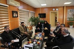 جلسه هماندیشی ایثارگران استانداری تهران با مدیرکل فرودگاه مهرآباد