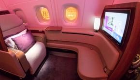 داخل فرستکلاس هواپیمایی قطر را در این فیلم ببینید