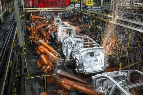 اتصال ۳۰ هزار ربات جنرال موتور به اینترنت