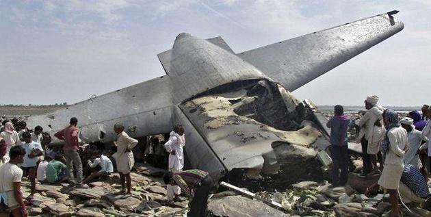 سقوط هواپیما در کنگو با ۱۷ مسافر