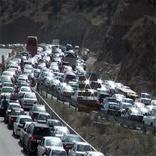 ترافیک سنگین در 2 محور مواصلاتی البرز