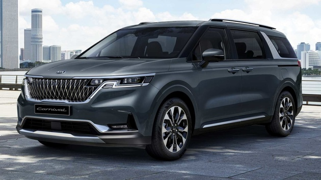 2021 Kia Sedona Fully Revealed With Up To 11 Seats, Two V6 Engines