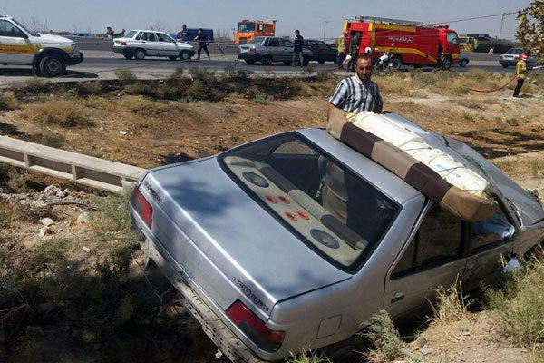 سانحه رانندگی در دالاهو یک کشته و ۴ زخمی به جا گذاشت