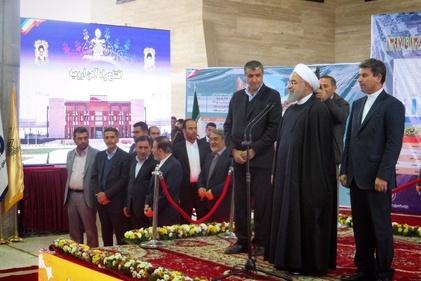 افتتاح راهآهن مراغه-ارومیه