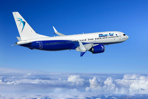 Romanian Airline Blue Air to Add Six 737 MAXs to Its Fleet