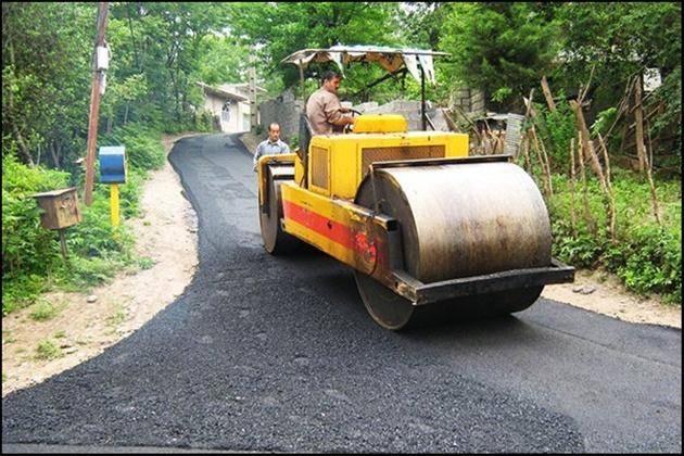 آسفالت  ۵۸کیلومتر از راههای روستایی سهم مازندران در طرح اقدام ملی