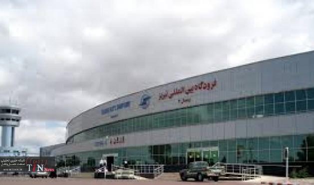 انتقال و بازسازی درب ورودی سطوح پروازی فرودگاه تبریز