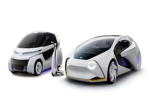 """Toyota Defines Future of Mobility with Concept Car """"TOYOTA Concept-i"""" Series Debuting at Tokyo Motor Show 2017"""