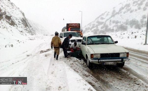 تردد در گردنه های استان سمنان بدون زنجیر چرخ ممنوع است