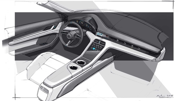 2020 Porsche Taycan Almost Had A Web Browser