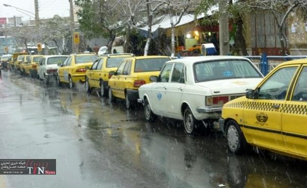 کرایه تاکسی ها در رشت کاهش می یابد