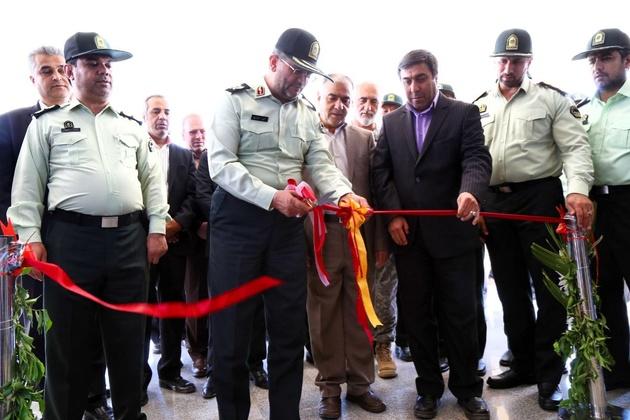 افتتاح ساختمان جدید پلیس فرودگاههای خراسان رضوی