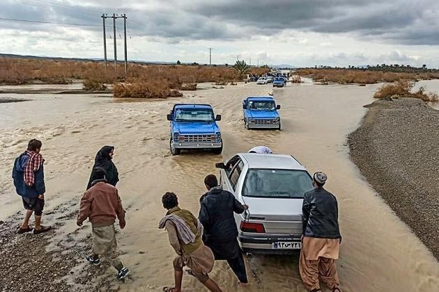 جادههای روستایی سیستان و بلوچستان همچنان مسدود است