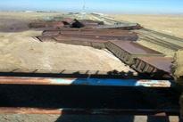 (فیلم) واژگونی قطار باری حامل سنگ آهن در نیشابور